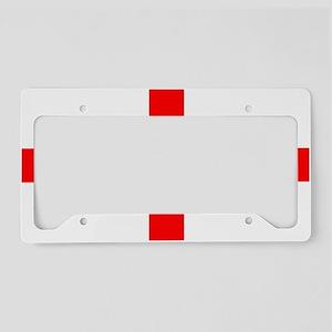 StGeorges License Plate Holder