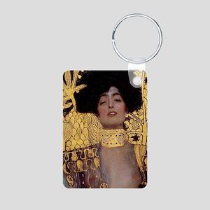 RM Klimt 30 Aluminum Photo Keychain