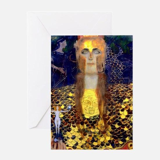 RM Klimt 32 Greeting Card