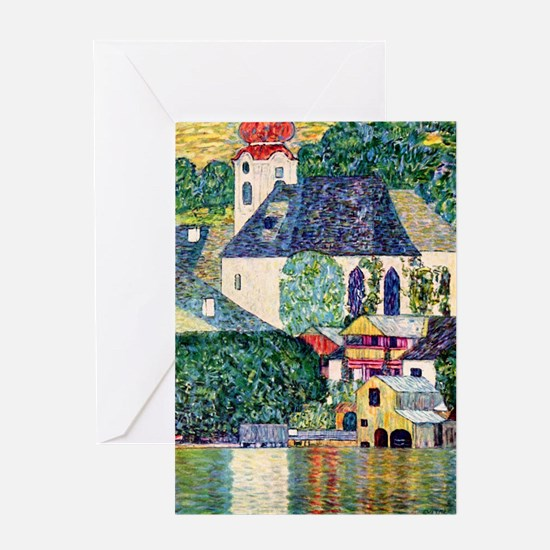 RM Klimt 27 Greeting Card