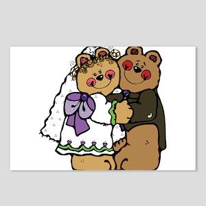 Bridal Bears Postcards (Package of 8)
