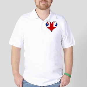 Heart of the UK Golf Shirt