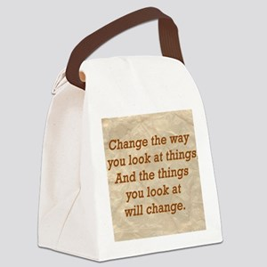 Change-the-way Canvas Lunch Bag