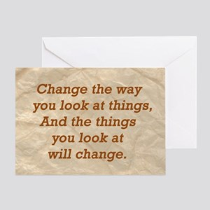 Change-the-way Greeting Card