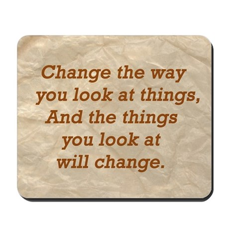 Change-the-way Mousepad