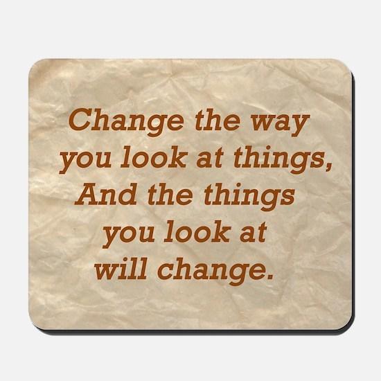 Change-the-way Mousepad