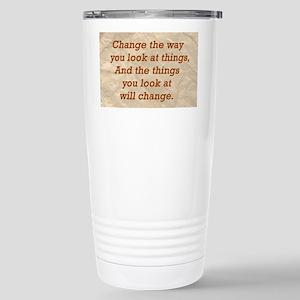 Change-the-way Stainless Steel Travel Mug
