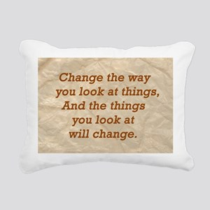 Change-the-way Rectangular Canvas Pillow