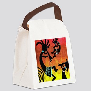 Dance of the Kokopelli Canvas Lunch Bag
