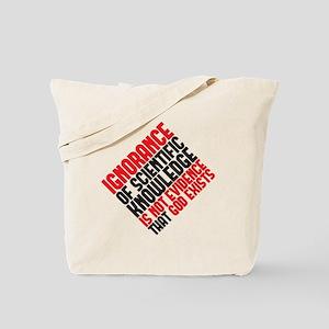 ignorance2 copy Tote Bag