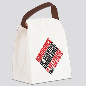 ignorance2 copy Canvas Lunch Bag