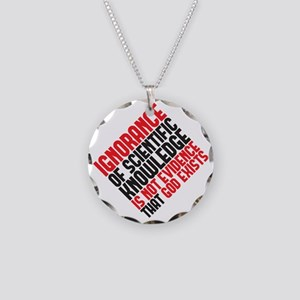 ignorance2 copy Necklace Circle Charm
