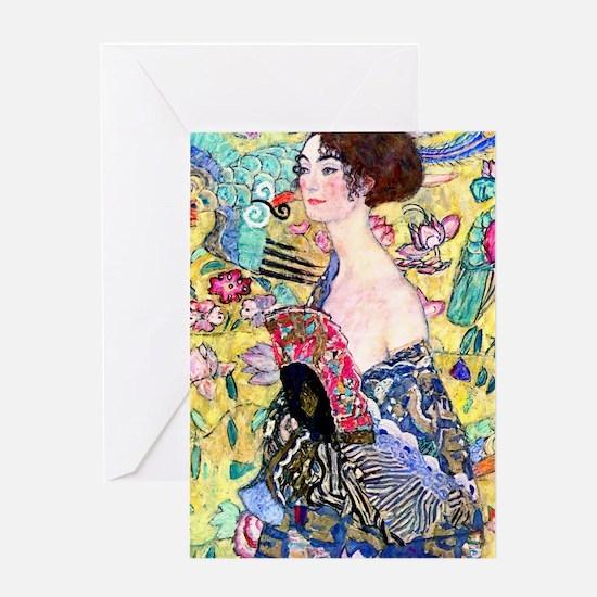 K/N Klimt 5 Greeting Card