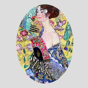 K/N Klimt 5 Oval Ornament