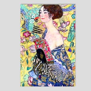 K/N Klimt 5 Postcards (Package of 8)