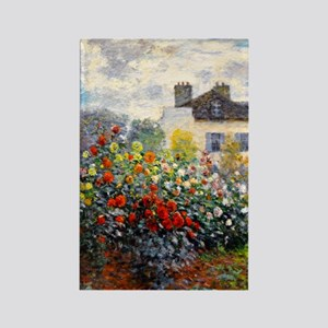 GC Monet Red Rectangle Magnet