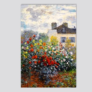 GC Monet Red Postcards (Package of 8)