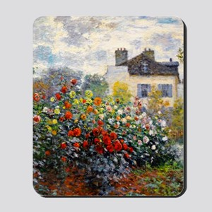 GC Monet Red Mousepad
