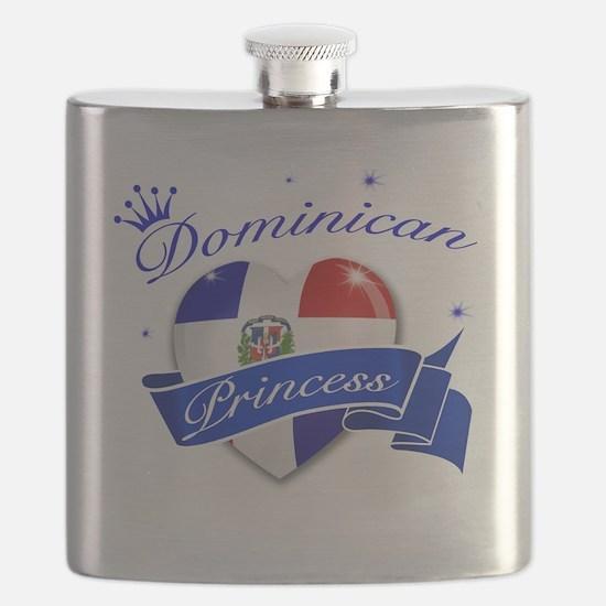 dominican republic Flask