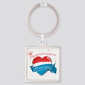 luxembourg Square Keychain