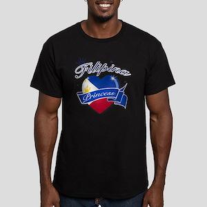 phillipines Men's Fitted T-Shirt (dark)