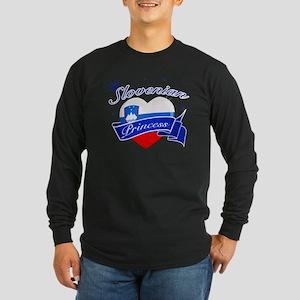 slovenia Long Sleeve Dark T-Shirt