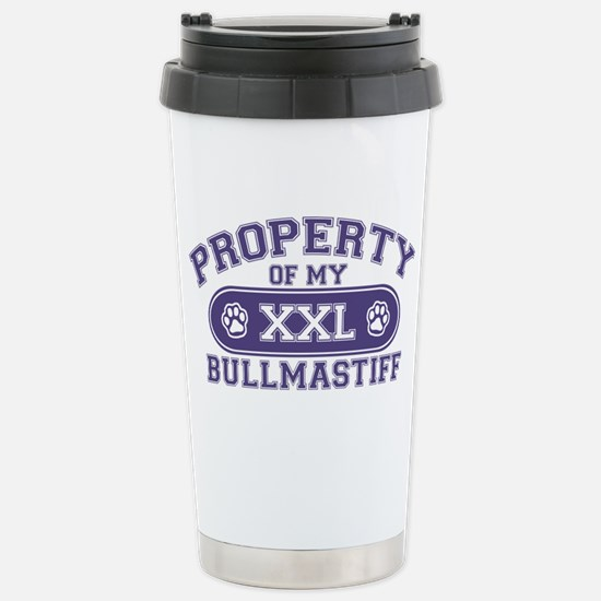 bullmastiffproperty Stainless Steel Travel Mug