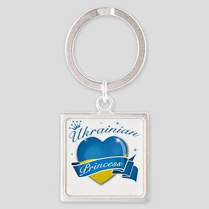 ukraine-new Square Keychain