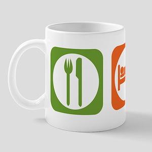 Eat Sleep Burmese Mug