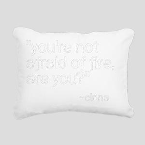 cinna quote trans Rectangular Canvas Pillow