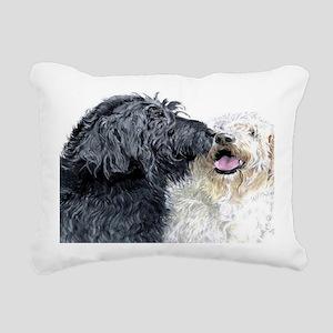 DOODlaptop Rectangular Canvas Pillow