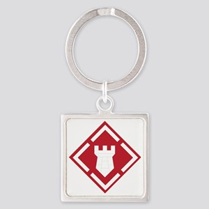 SSI - 20th-Engineer Brigade Square Keychain
