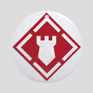 SSI - 20th-Engineer Brigade Round Ornament