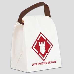 SSI - 20th Engineer Brigade with  Canvas Lunch Bag