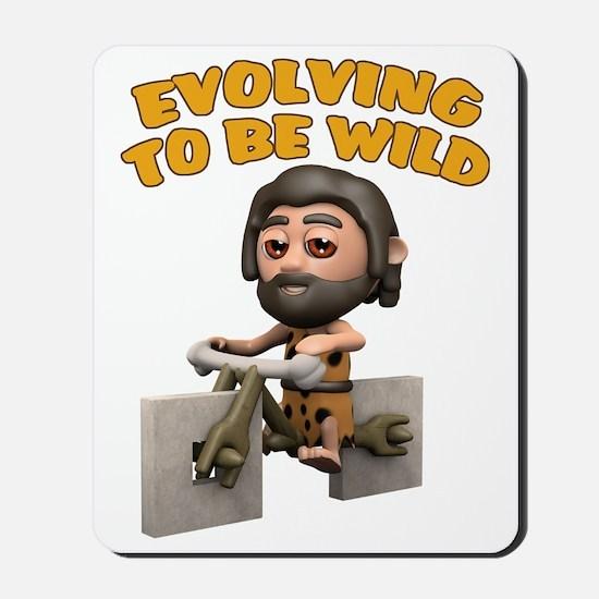 Evolving-wild Mousepad