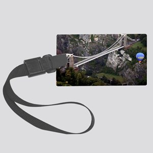 CLIFTON SUSPENSION BRIDGE FROM A Large Luggage Tag