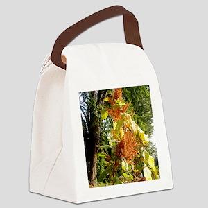 Golden Grain Canvas Lunch Bag
