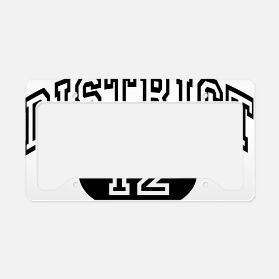 hunger-dis12 License Plate Holder