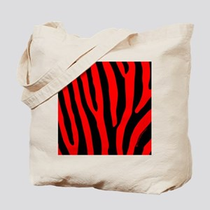 menswalletredzebra Tote Bag