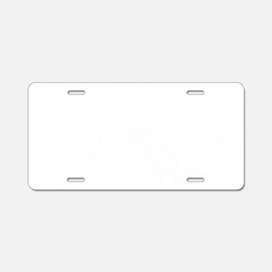 Gone Squathcin Aluminum License Plate
