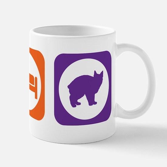 Eat Sleep Manx Mug