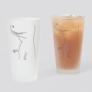 rock paper Drinking Glass