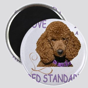 Love is a Red Standard Magnet