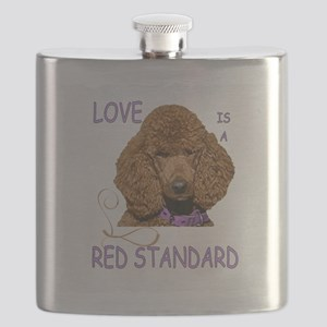 Love is a Red Standard Flask