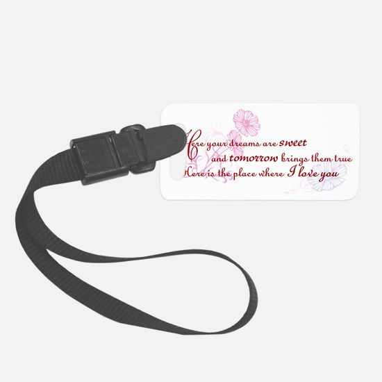 Rues Song Luggage Tag