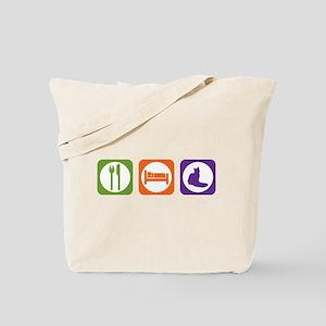 Eat Sleep Nebelung Tote Bag