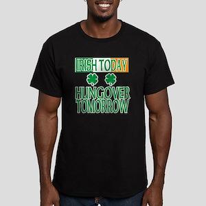 irishhungover2 Men's Fitted T-Shirt (dark)