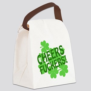 88472 CHEERS Canvas Lunch Bag