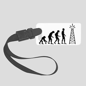 Oil Evolution JPEG Small Luggage Tag