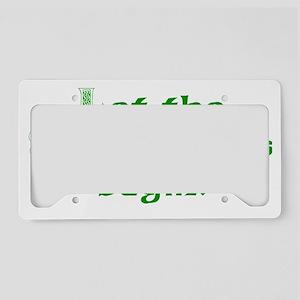 shenanigans transp License Plate Holder